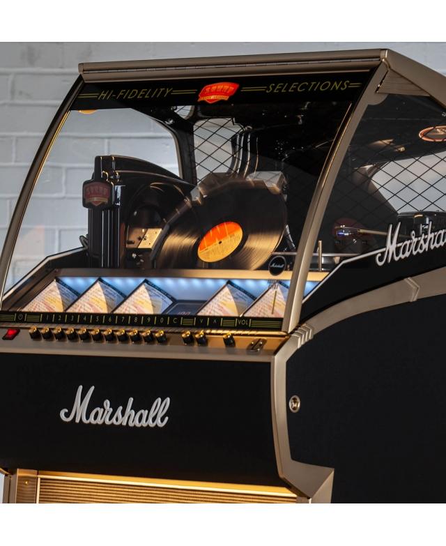 Jukebox Marshall LP 33 Tours