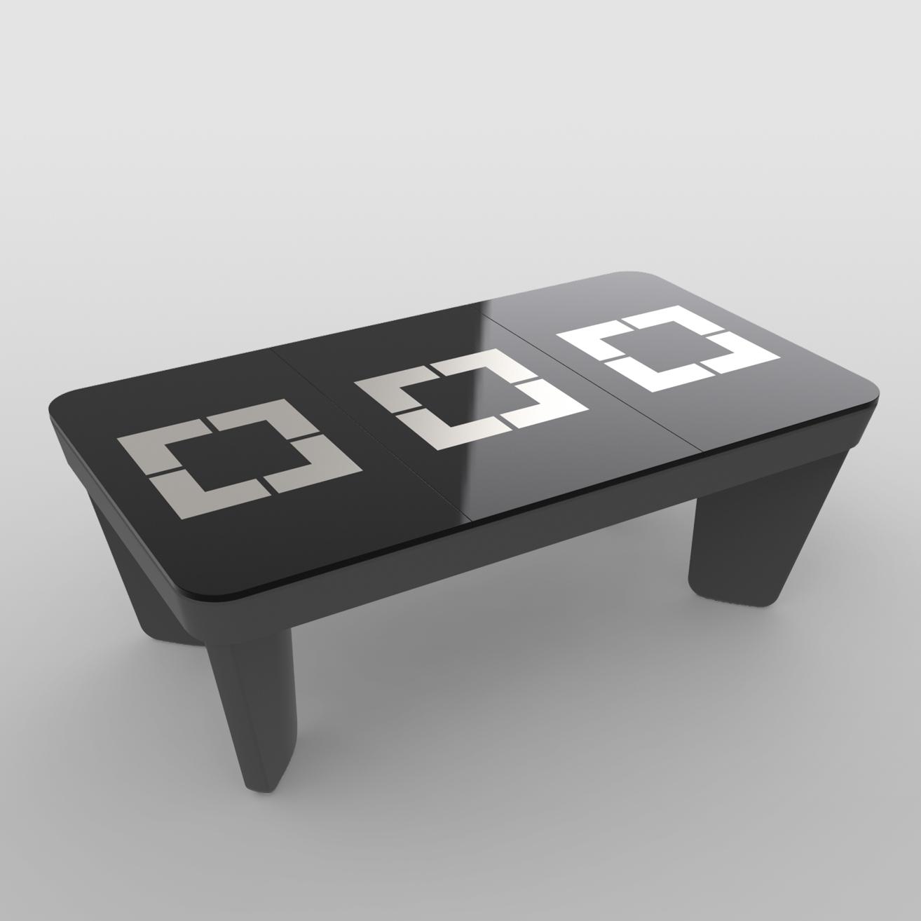 Plateaux table décor 3 parties n3