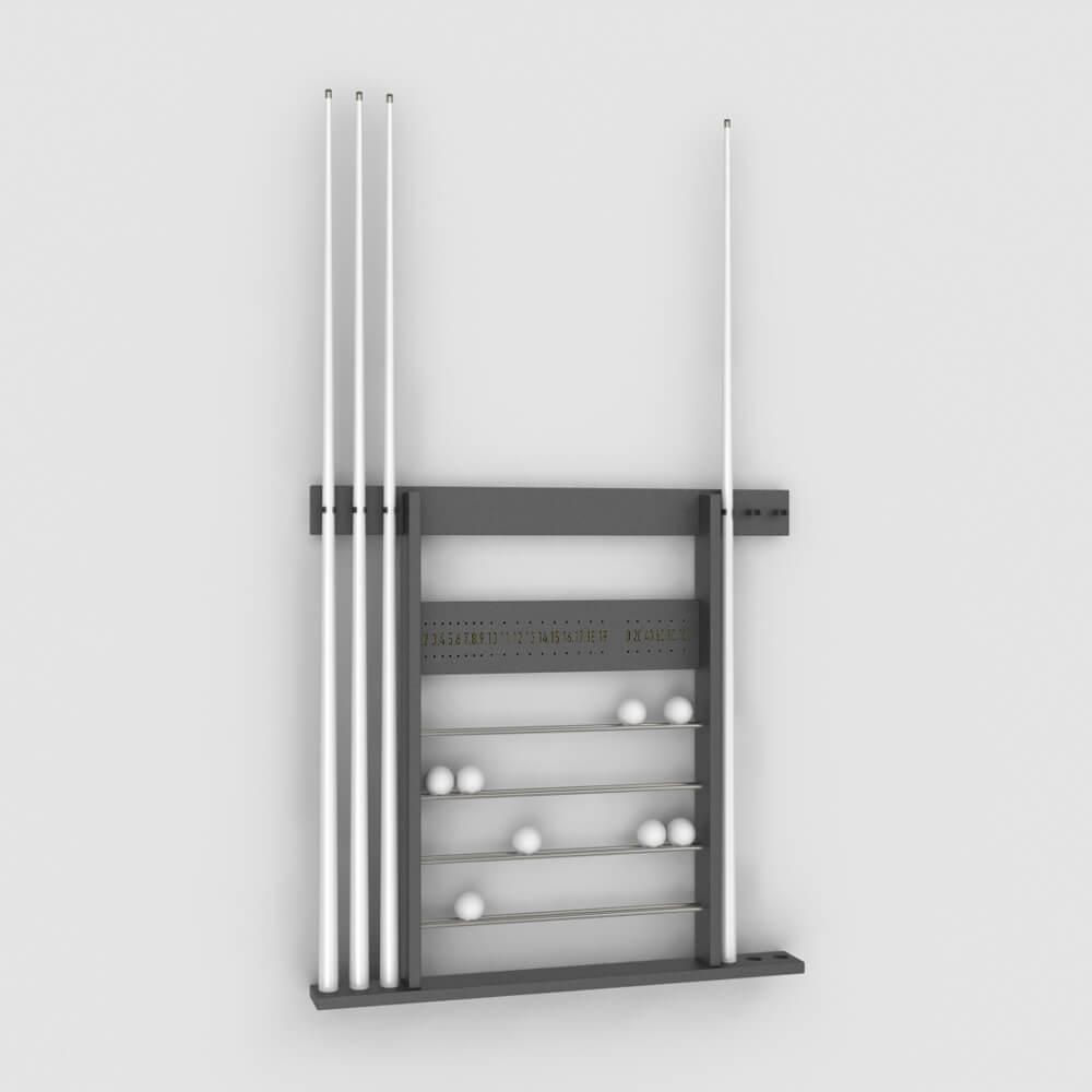 Porte-queues et Compteur de points Luxe - Billard Montfort
