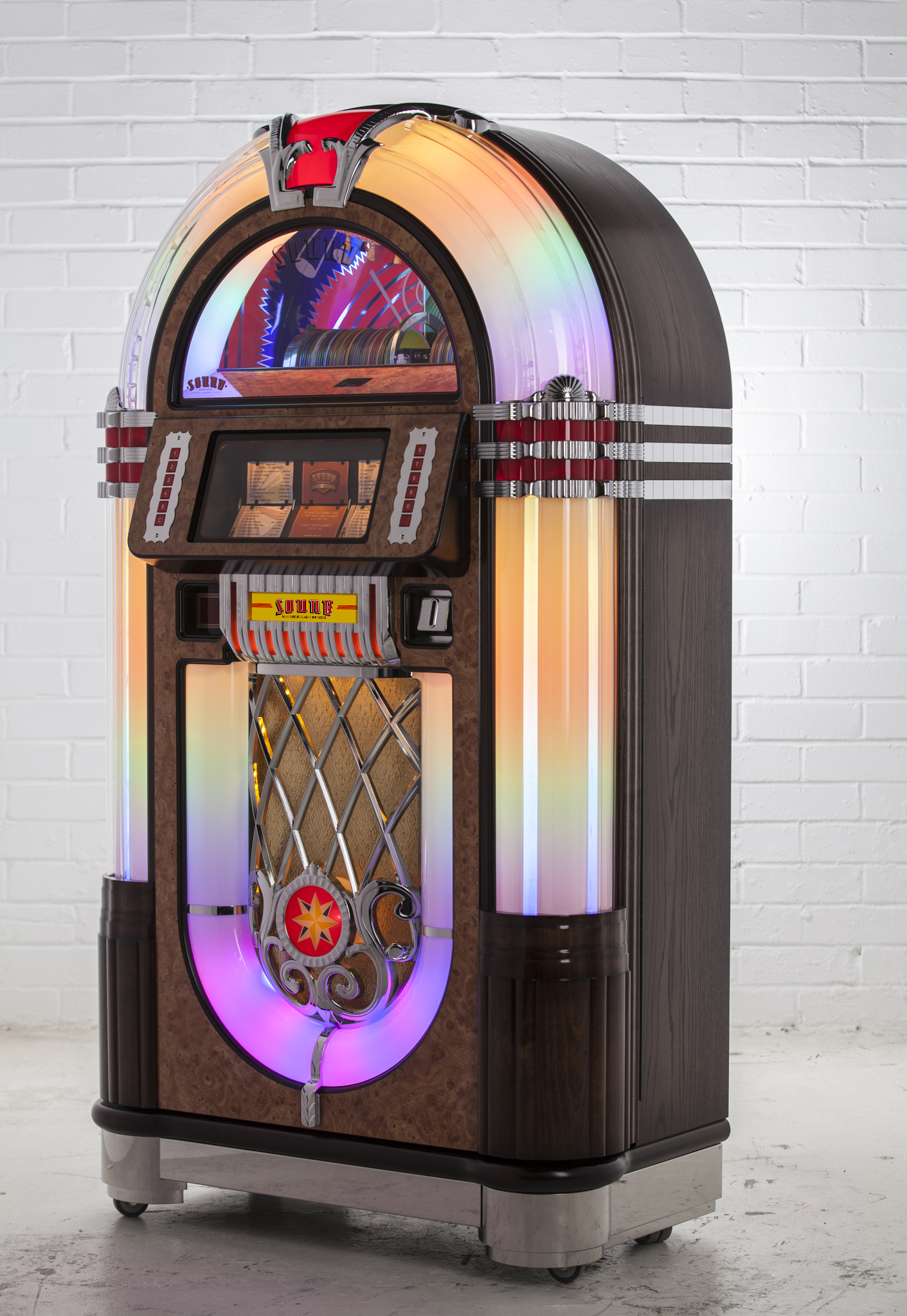 Jukebox SL15 Slimline - Chêne Foncé